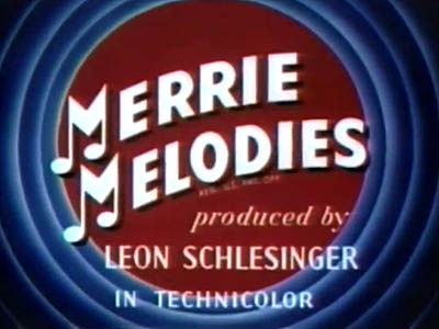 Series Title Card</a>. The <b>Produced by Leon Schlesinger</b> changed to  <b>Warner Bros. Cartoons, Inc.</b> and then to <b>A Warner Bros. Cartoon</b> during this season.