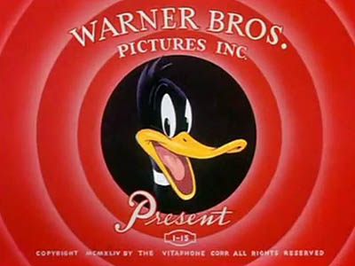Daffy Duck Title Card