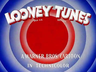 Looney Tunes Title Card.