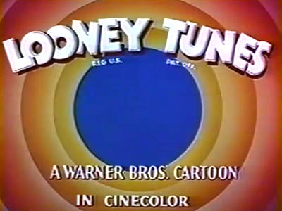 Looney Tunes Title Card (CineColor)