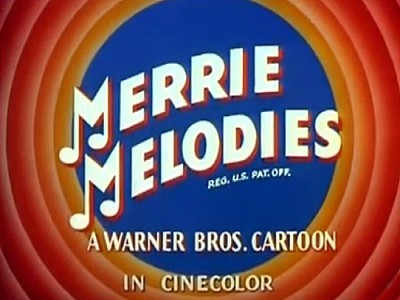 CineColor Merrie Melodies Title Card