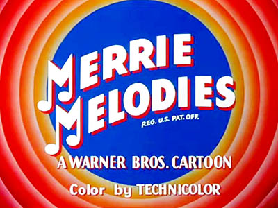 Merrie Melodies Title Card