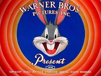 Bugs Bunny Title Card