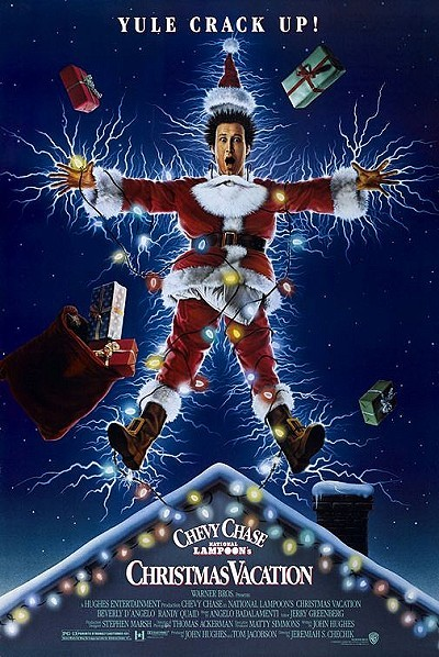 National Lampoon's Christmas Vacation Original Release Poster