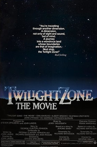 Twilight Zone: The Movie Original Title Card