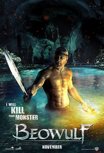 Beowulf I Will Kill Your Monster Advance Poster