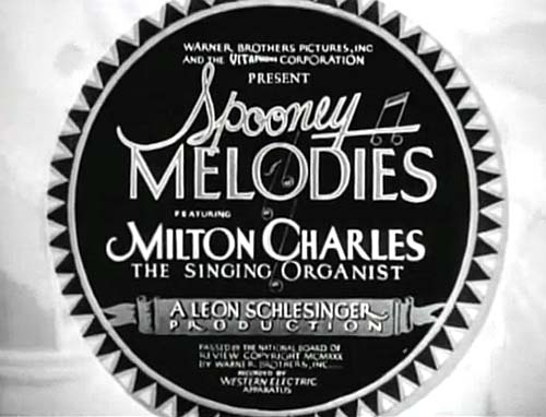 Spooney Melodies Series Title Card