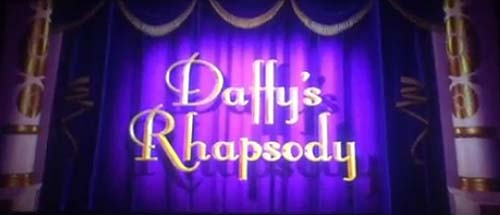 <i>Daffy's Rhapsody</i> Title Card