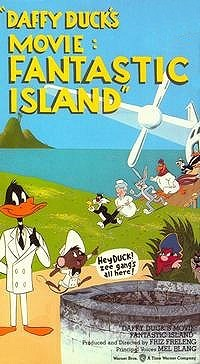 'Daffy Duck's Movie: Fantastic Island' Video Release Image