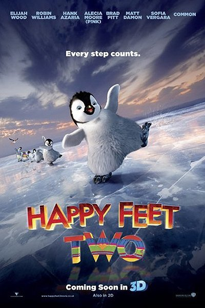 Happy Feet Two Pre-Release Poster