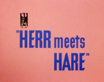<i>Herr Meets Hare</i> Title Card