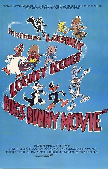 Friz Freleng's Looney Looney Looney Bugs Bunny Movie Original Release Poster