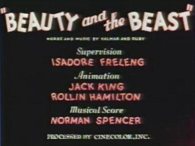 <i>Beauty And The Beast</i> Title Card