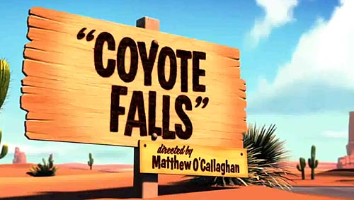 <i>Coyote Falls</i> Title Card