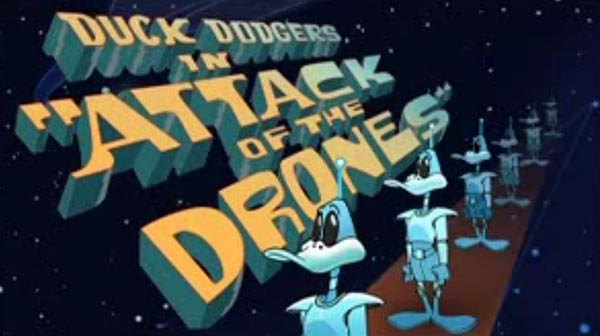 <i>Attack Of The Drones</i> Title Card