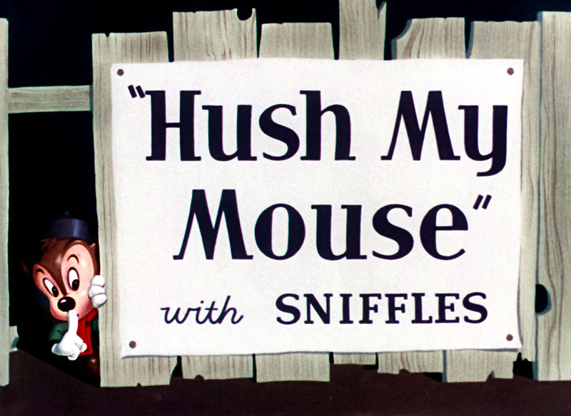 Hush My Mouse Original Title Card