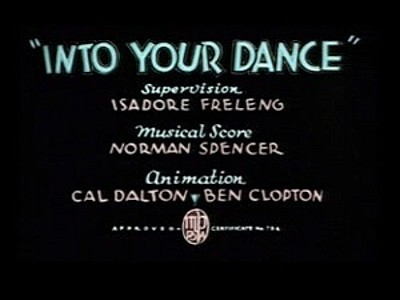 <i>Into Your Dance</i> Title Card