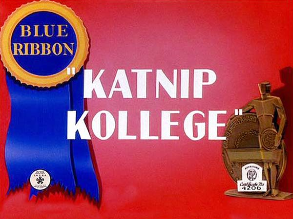 Katnip Kollege Blue Ribbon Title Card