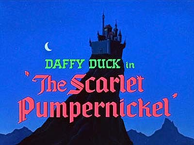 <i>The Scarlet Pumpernickel</i> Title Card