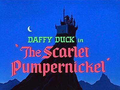 <i>The Scarlet Pumpernickel</i> Title Card