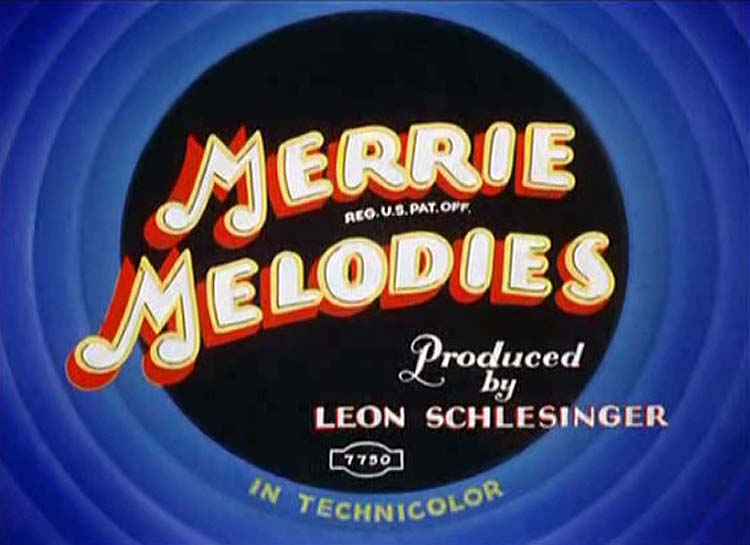 She Was An Acrobats Daughter Merrie Melodies Title Card