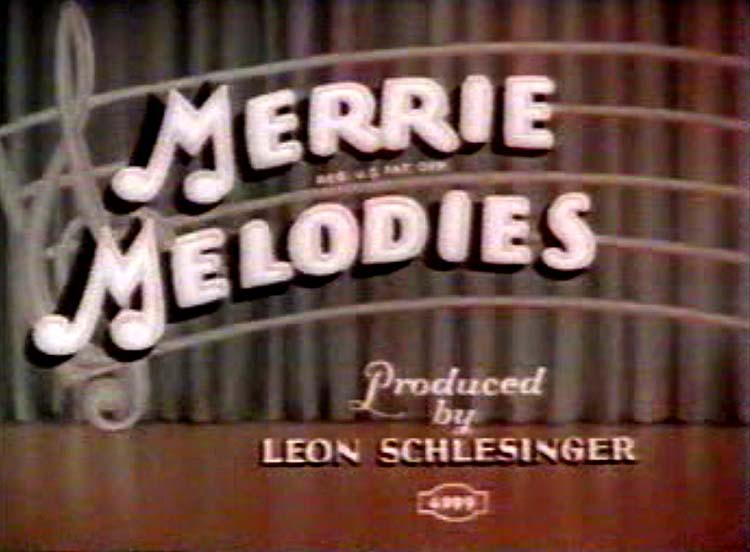 Billboard Frolics Merrie Melodies Title Card