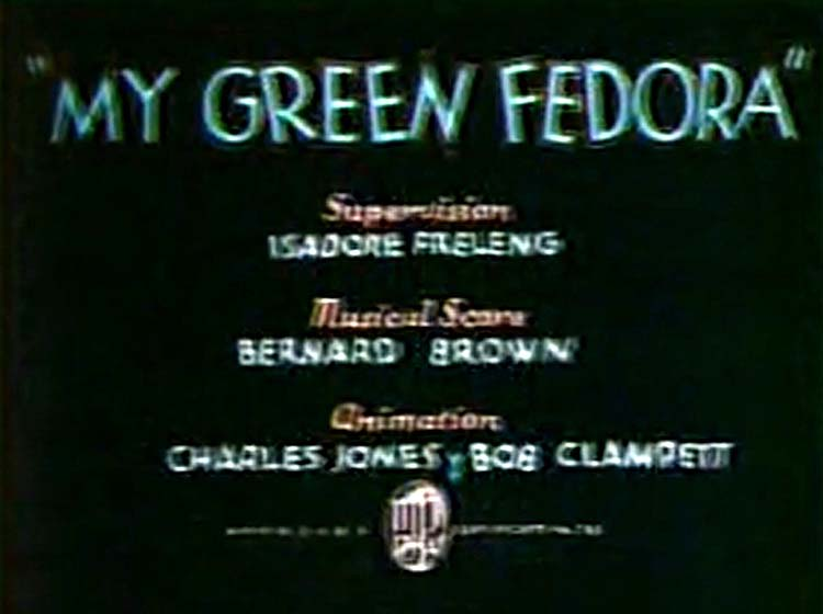 My Green Fedora Title Card