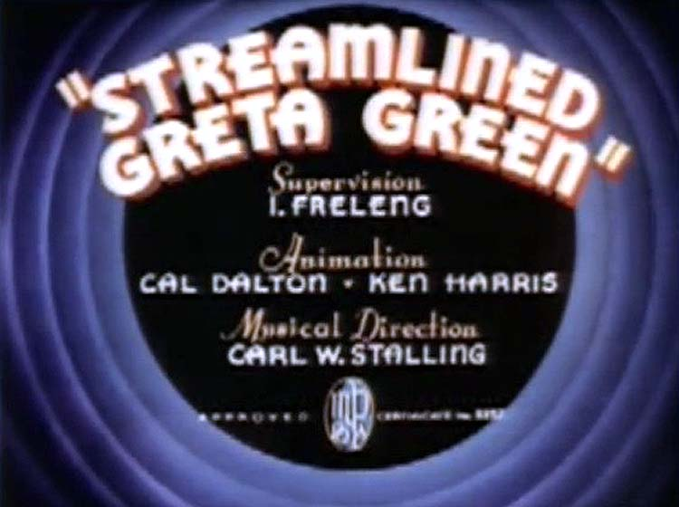 Streamlined Greta Green TItle Card