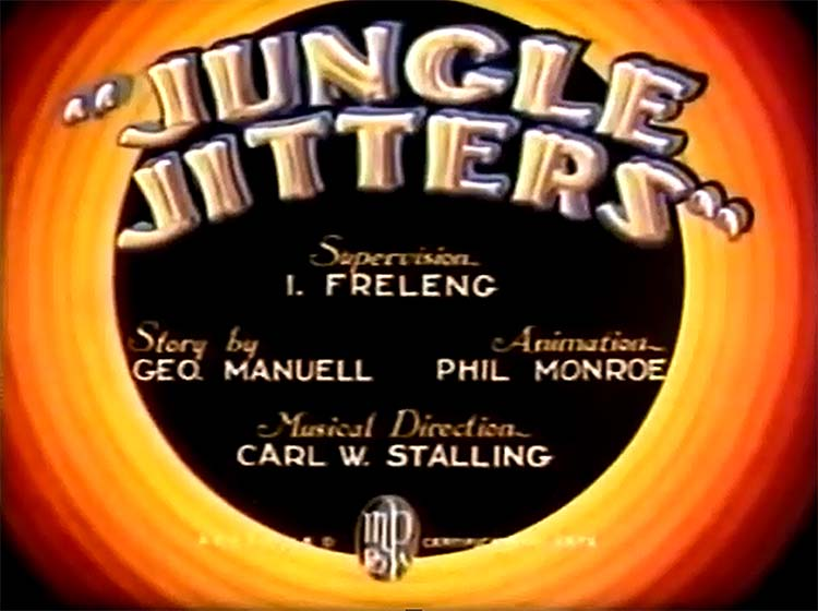 Jungle Jitters Title Card