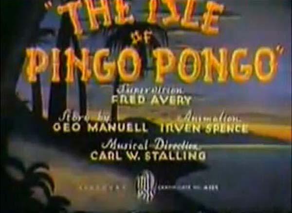 The Isle Of Pingo Pongo Title Card