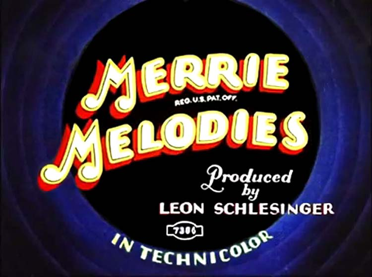 Sunday Go To Meetin Time Merrie Melodies Card