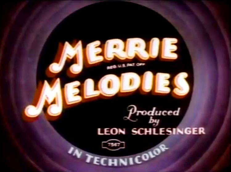 Toy Town Hall Merrie Melodies Card