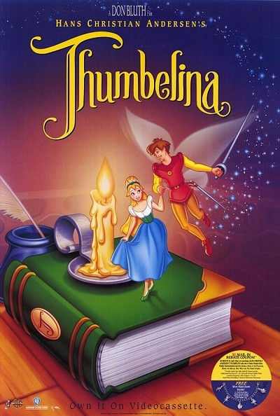 'Thumbelina' Original Video Release Poster