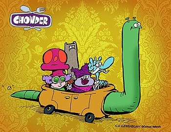 Chowder Television Series Title Card