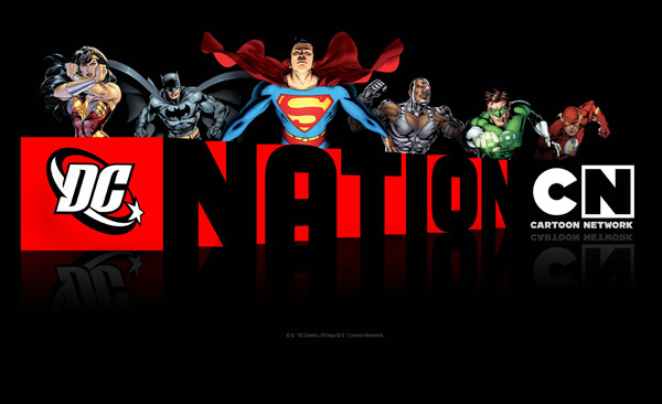 'DC Nation Television' Series Title Card