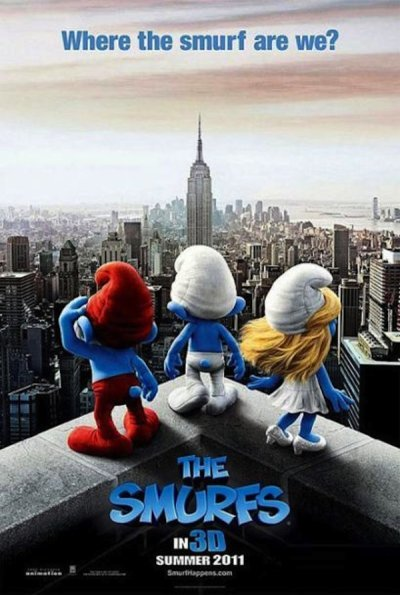 The Smurfs Pre-release Poster
