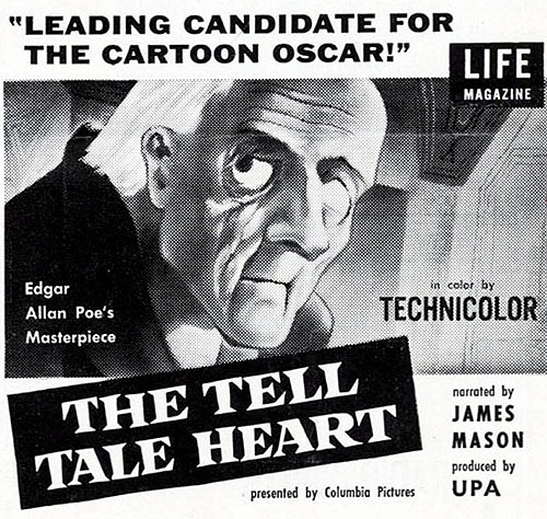 'The Tell-Tale Heart' Print Ad