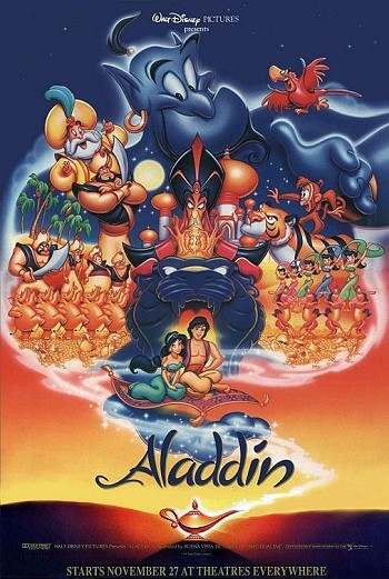 Aladdin Original Advance Poster