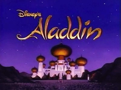 Disney's Aladdin: The Series Television Series Title Card