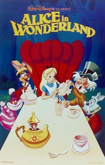 Cartoon pictures and video for alice in wonderland 1951 - Alice in wonderland cartoon pictures ...
