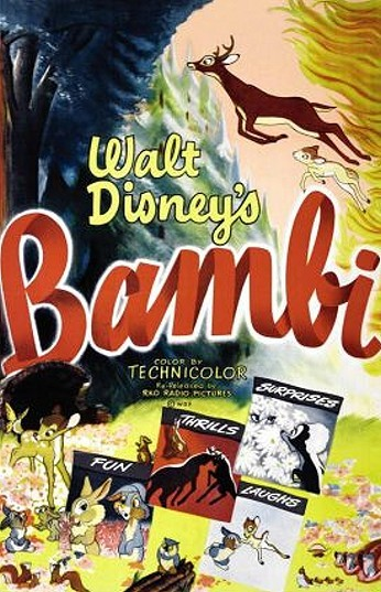 cartoon pictures for bambi  1942