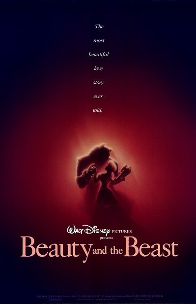 Beauty And The Beast Original Release Poster Style A