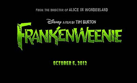 Frankenweenie Title Treatment