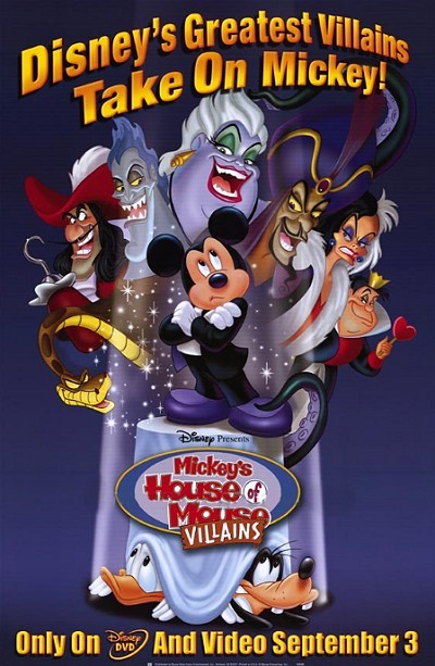 Mickey's House Of Villains Promo Poster