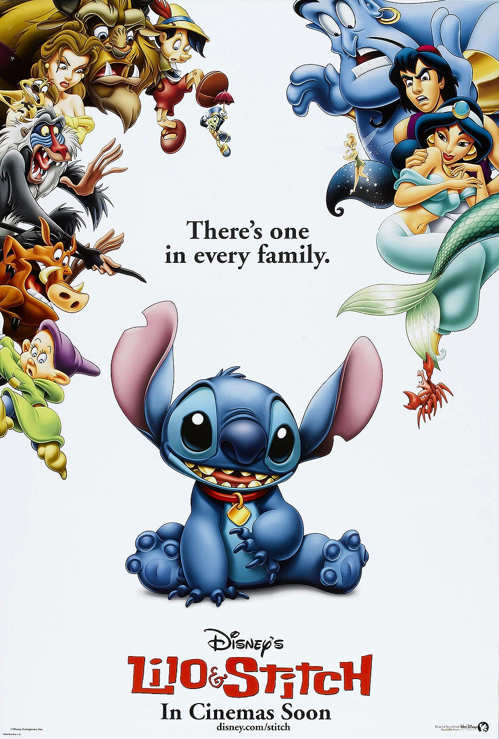 Lilo & Stitch Original Advance Poster
