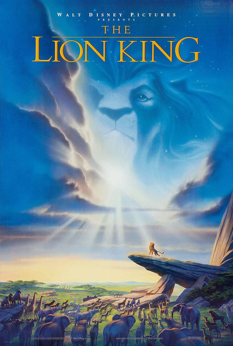 The Lion King Original Advance Poster