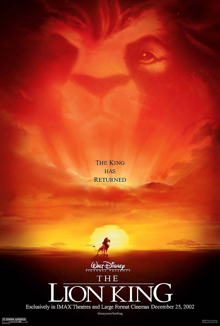 The lion king release date