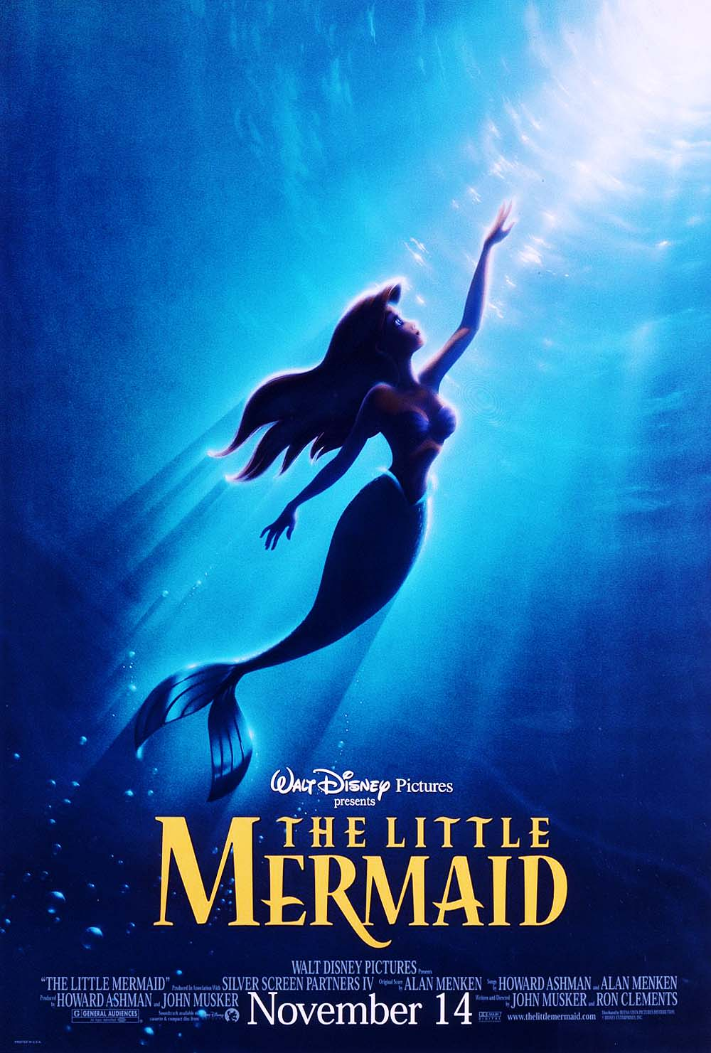The Little Mermaid Advance Poster