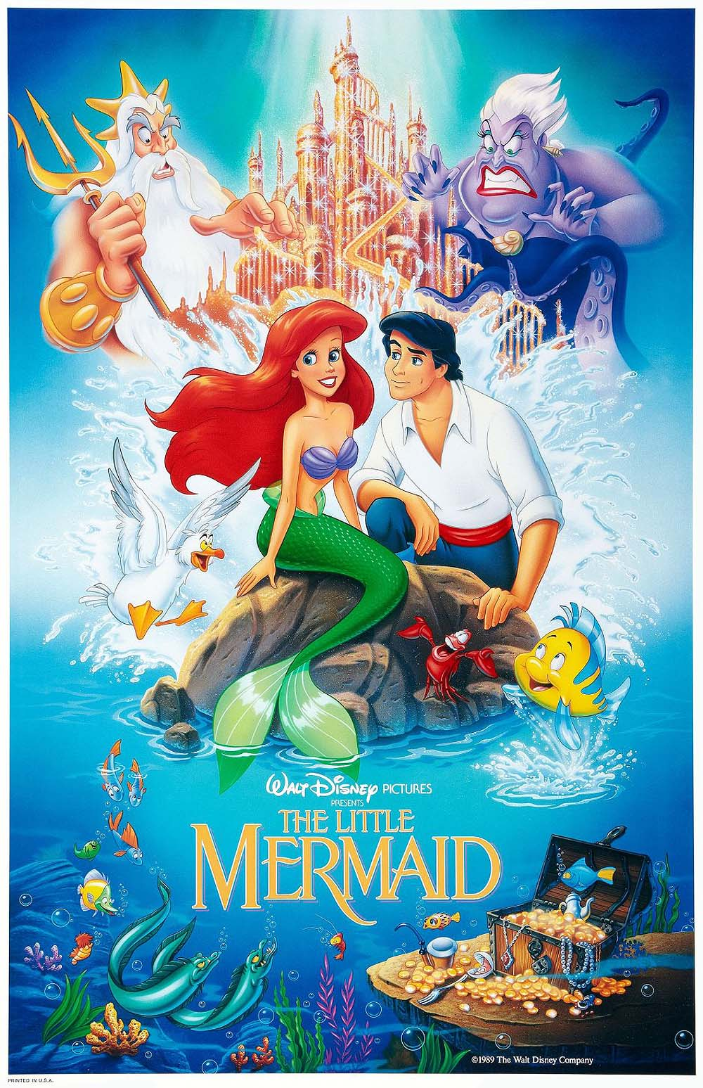 cartoon pictures for the little mermaid 1989 bcdb