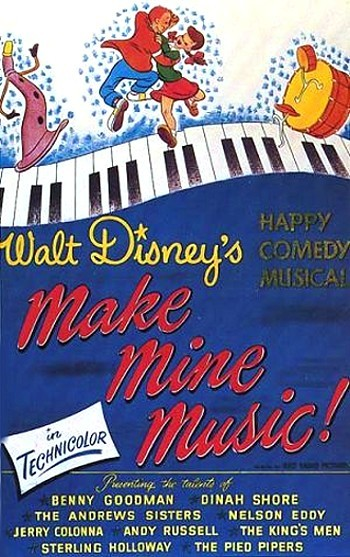 Make Mine Music Original Release Poster